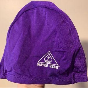 Water gear swim cap